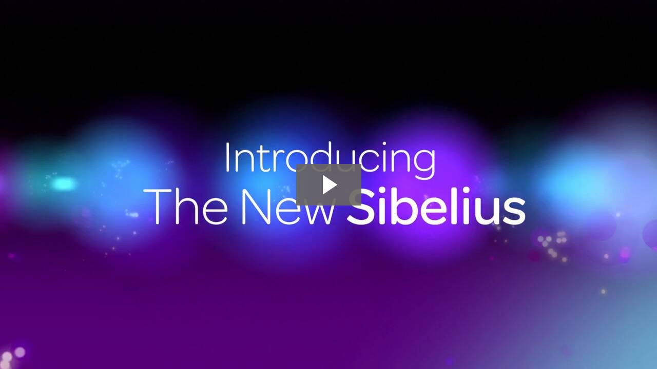 Sibelius 7 Academic Video