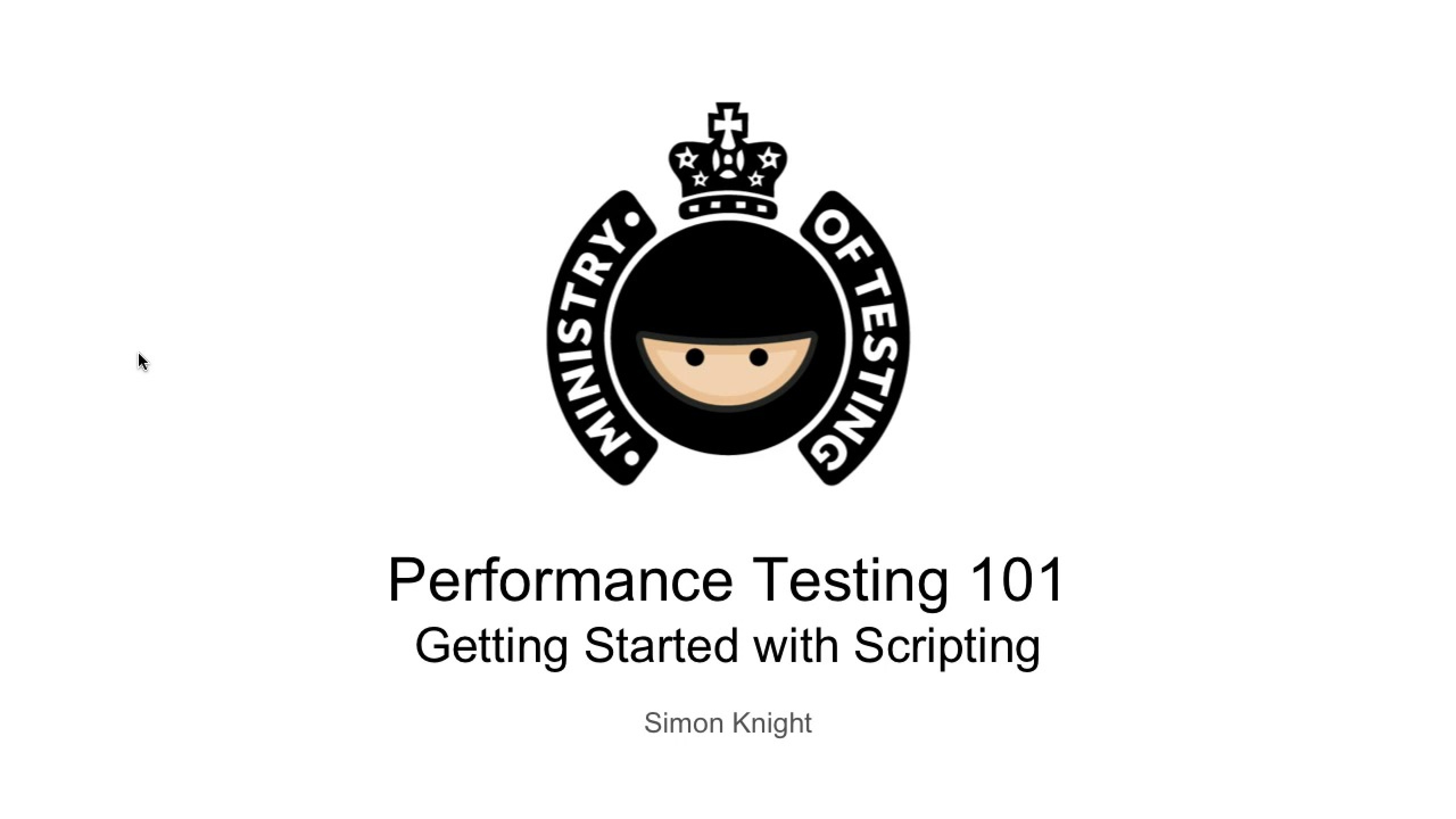 Getting Started with Scripting - JMeter Basics