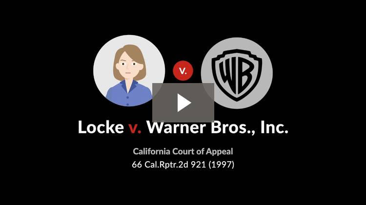 Locke v. Warner Bros., Inc.