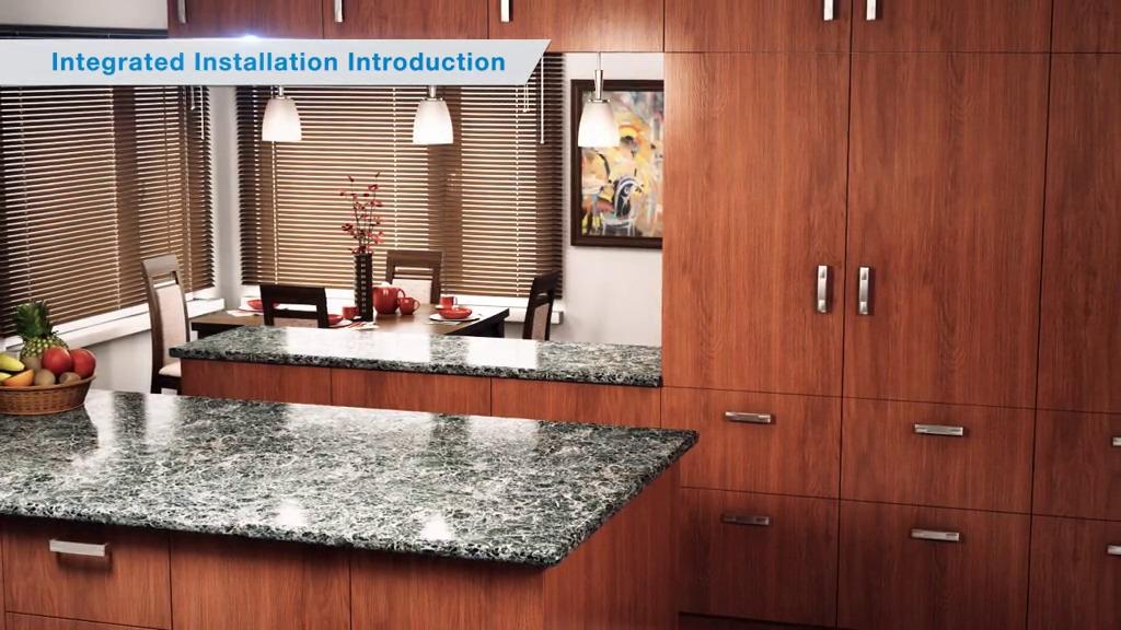 Integrated Refrigeration And Wine Storage Installation Videos New Generation
