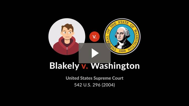 Blakely v. Washington