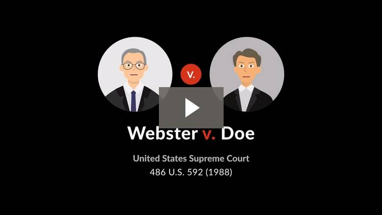 Webster v. Doe