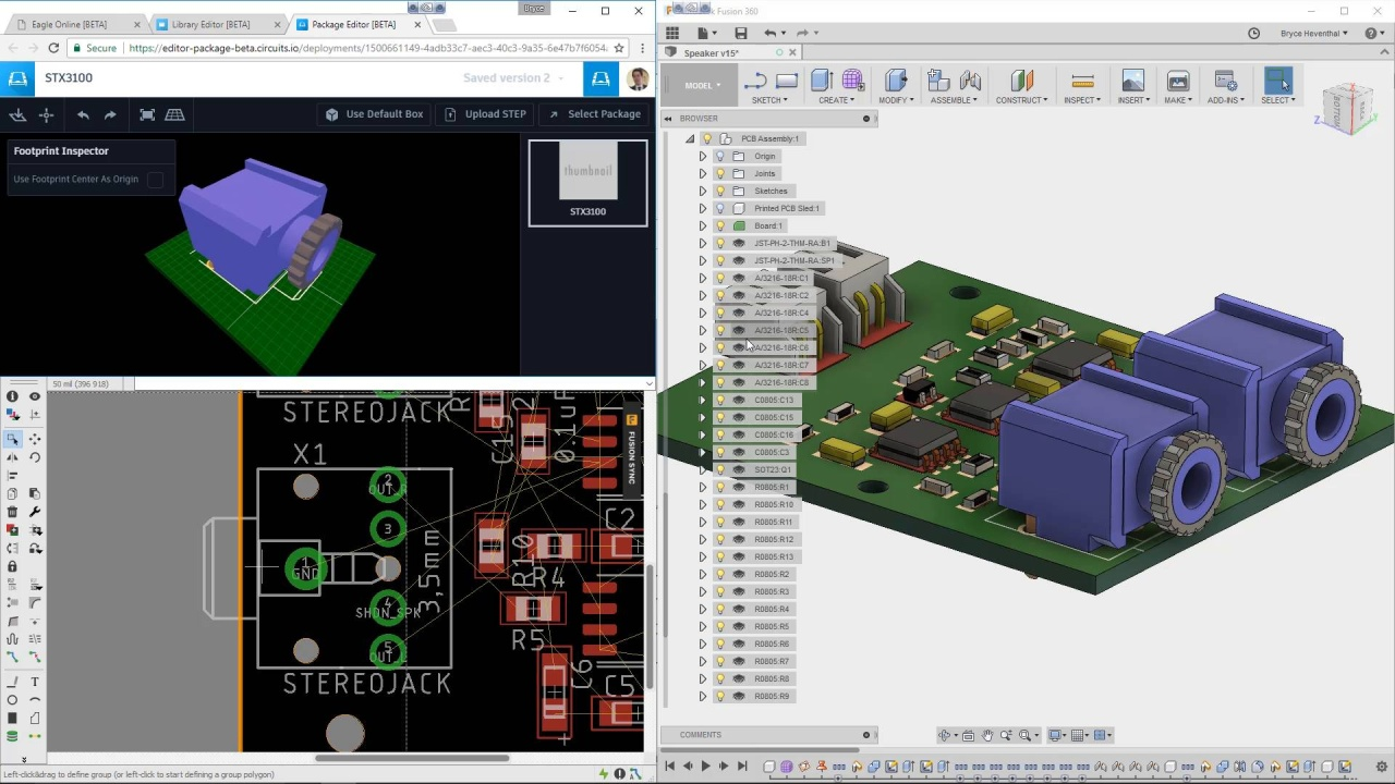 Ecad And Mcad Software Collaboration Tools Autodesk Free Download Of The Opensource Circuit Simulator Geckocircuits Wistia Video Thumbnail