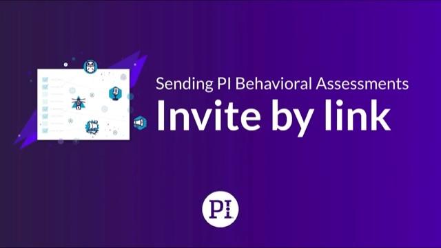 How to Send Assessments via Link