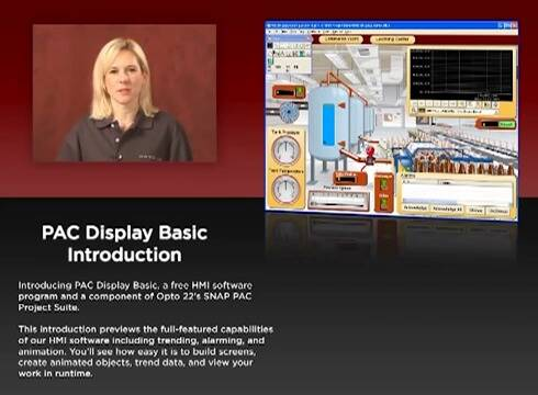 PAC Display Basic - Introduction