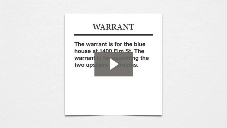 Warrants II
