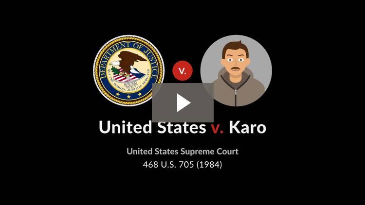 United States v. Karo