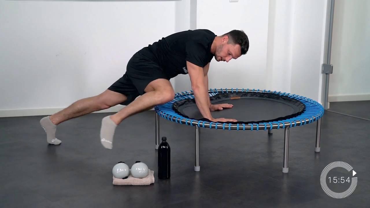 Circle-Training zur Steigerung der Kraftausdauer | Mini Trampolin ...