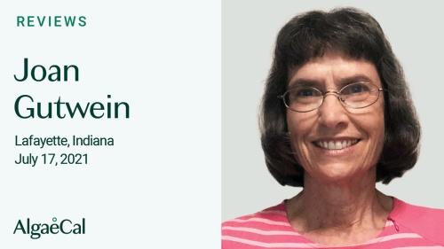 Testimonial thumbnail portrait of Joan Gutwein
