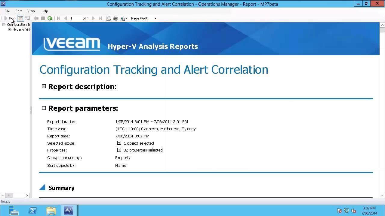 CV-724 MPv8_Reporting video 02.01.2018