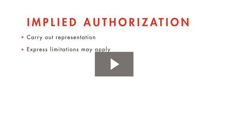 Authorized Disclosures