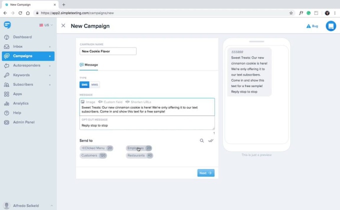 How to Send and Schedule Your Text Campaigns