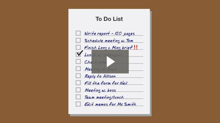 Powerful To-Do Lists