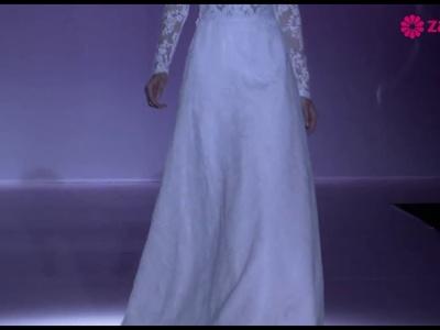 Desfile Hannibal Laguna 2014, vestidos de novia románticos y elegantes