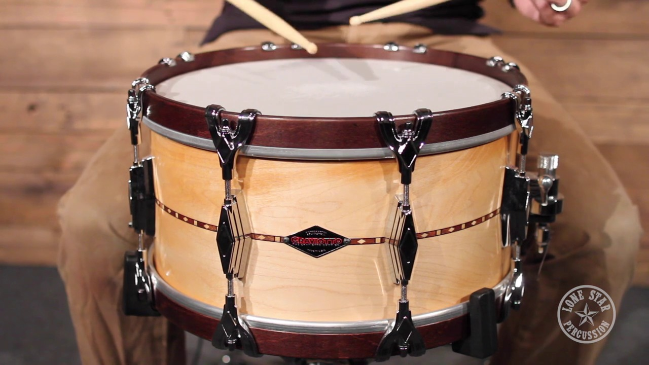 craviotto 7 x 14 super swing solid maple snare drum less0714. Black Bedroom Furniture Sets. Home Design Ideas