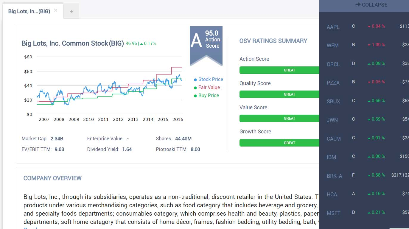 stock valuation calculator excel free