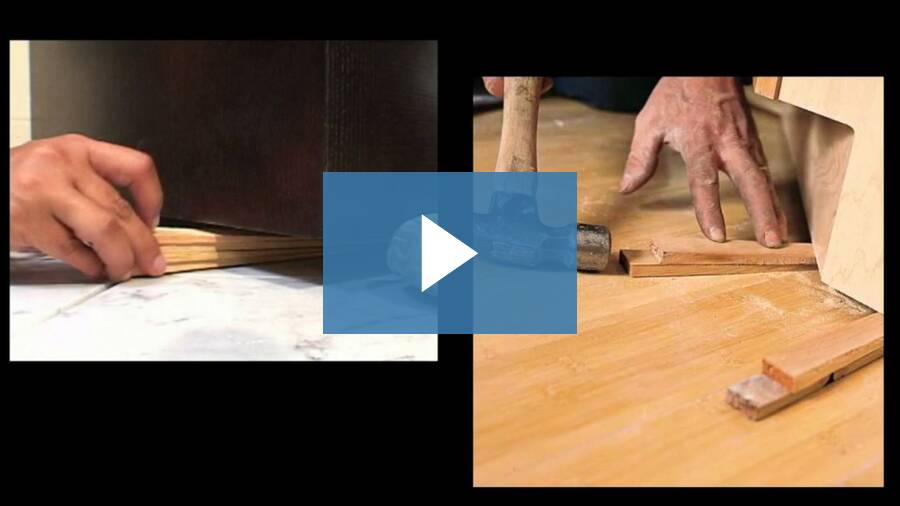 How To Install Kitchen Cabinets (if using shims)