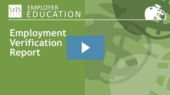Thumbnail for the 'Employment Verification Report' video.
