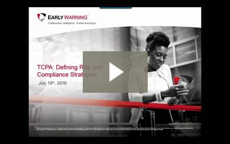 Webinar - TCPA: Defining Risks and Compliance Strategies