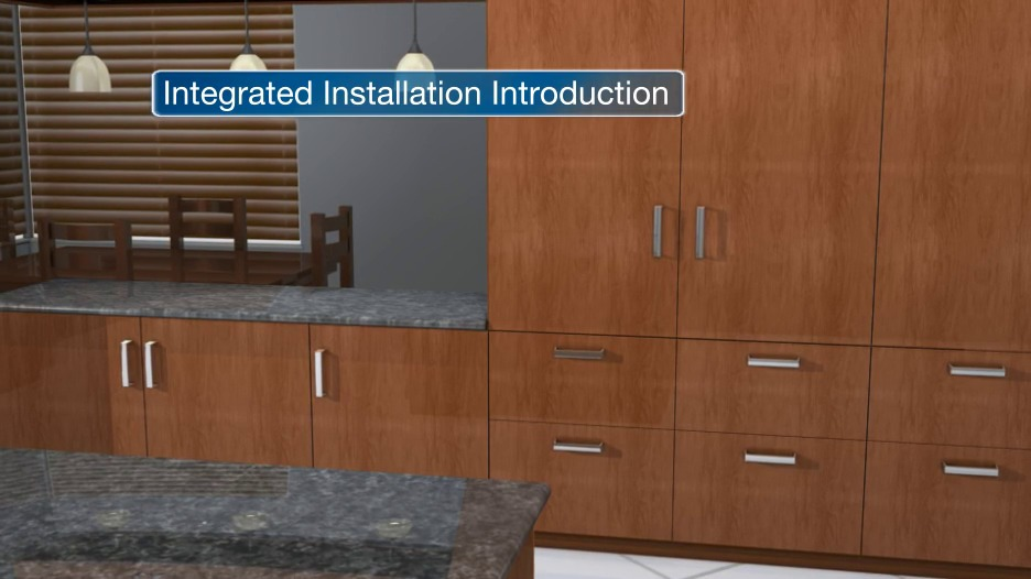 Integrated Refrigeration And Wine Storage Installation Videos Earlier Models