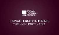 Still image from 'Private equity in Mining Report - 2017' video