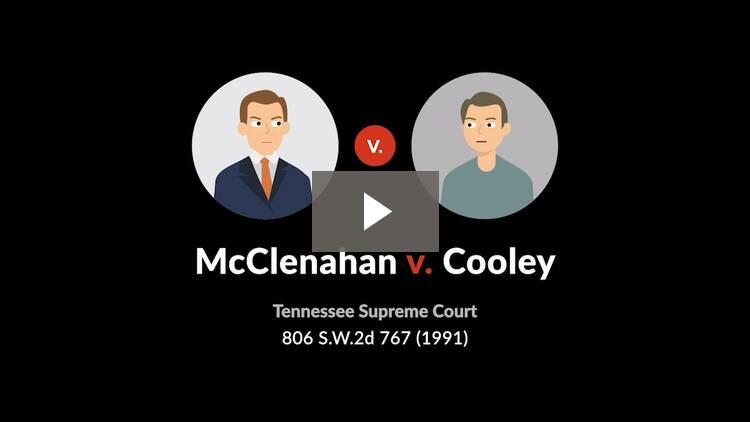 McClenahan v. Cooley