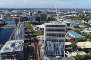 X1 Media City - Drone Footage - May 2017