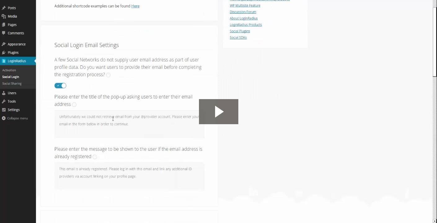 WordPress Social Login and Social Sharing