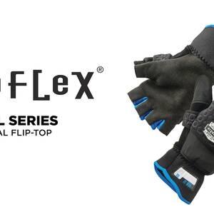 Ergodyne Product Video - ProFlex<sup>®</sup> 816 Thermal Fingerless Winter Work Gloves / Flip-Top Mittens