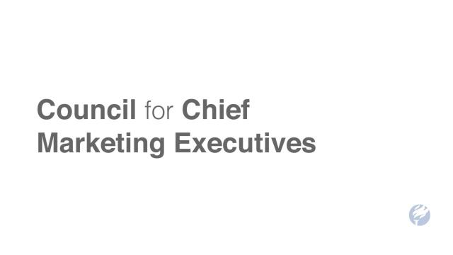 Council For Chief Marketing Executives Ccme