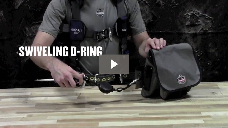 Ergodyne Product Video - Squids<sup>®</sup> 3000 Retractable Dual SS Carabiner - 1lb