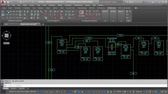 electrical for autocad design master software