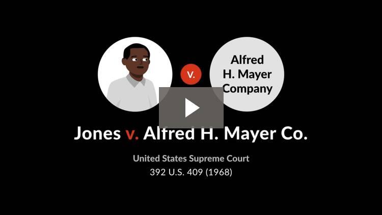 Jones v. Alfred H. Mayer Co.