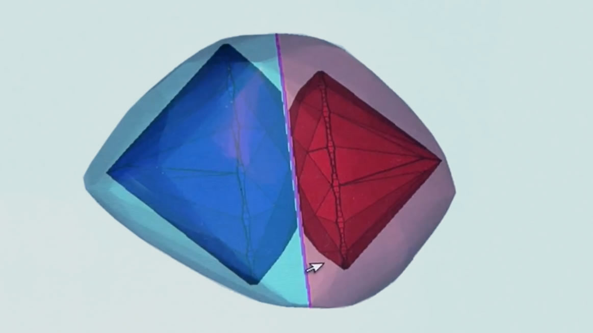 Are all diamonds cut to be beautiful?