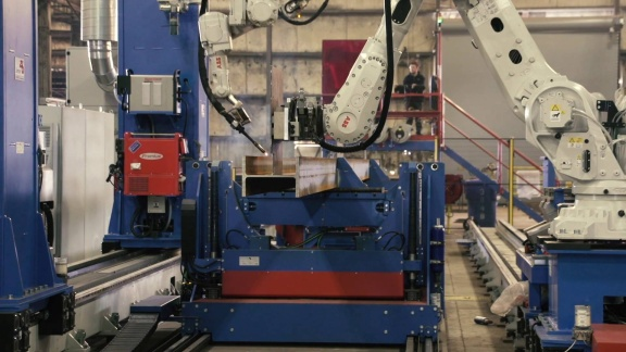 Prospect Steel Sparks Robotic Welding in the US Structural Steel Industry