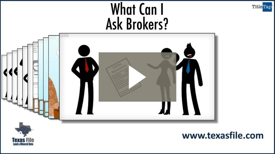 What Can I Ask Brokers?