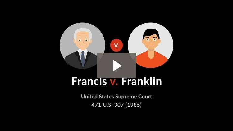 Francis v. Franklin