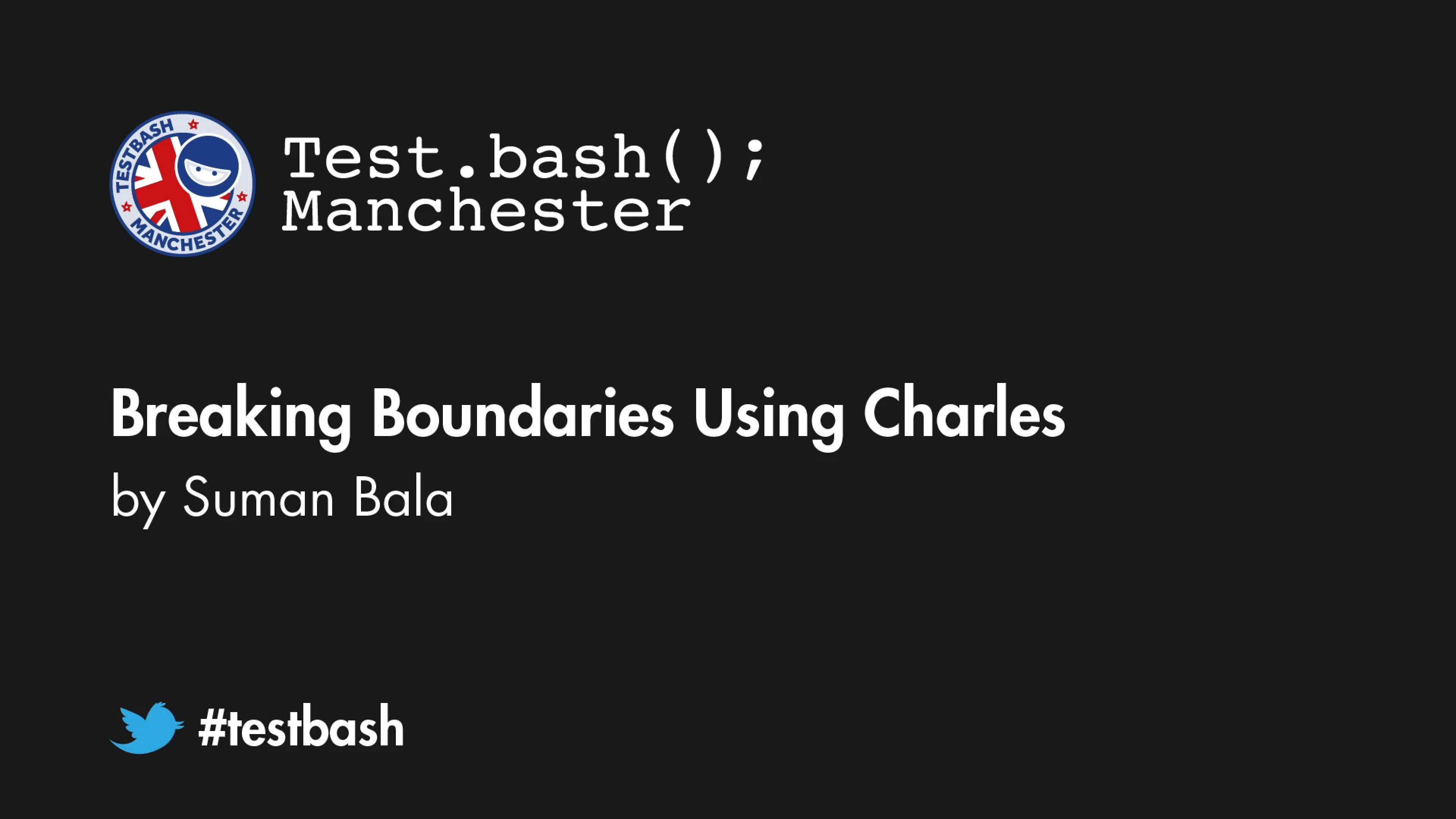 Breaking Boundaries Using Charles - Suman Bala