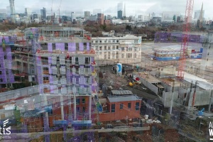 Adelphi Wharf Phase 1 & 2 - Drone Footage - December 2017