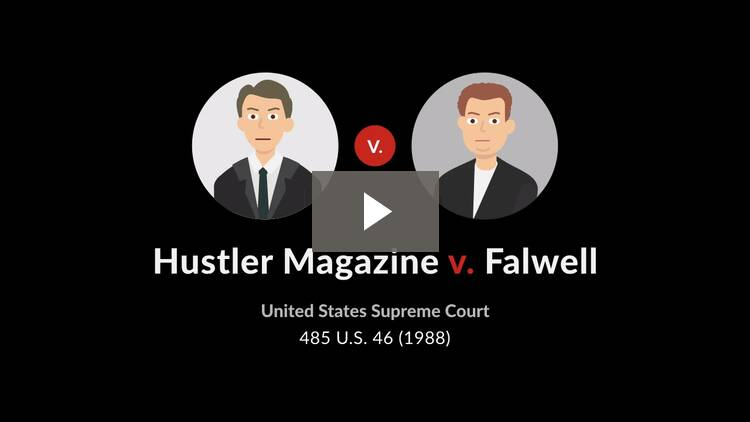 Hustler Magazine v. Falwell