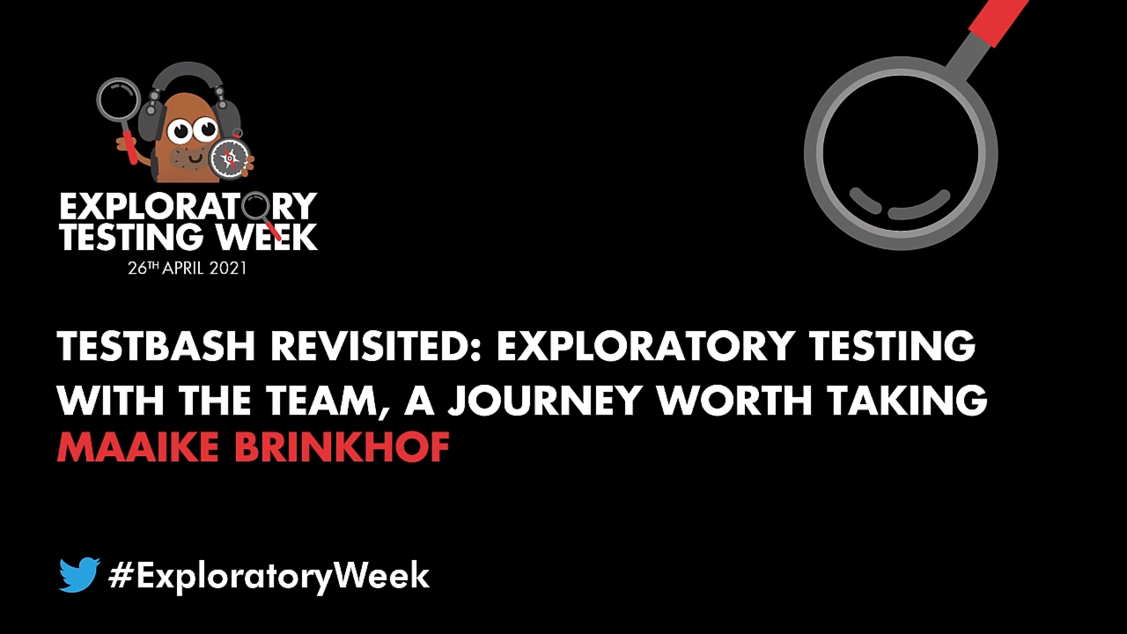 TestBash Revisited: Exploratory Testing with the Team, a Journey Worth Taking