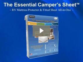The Essential Camper Sheet - RV Mattress Protectors