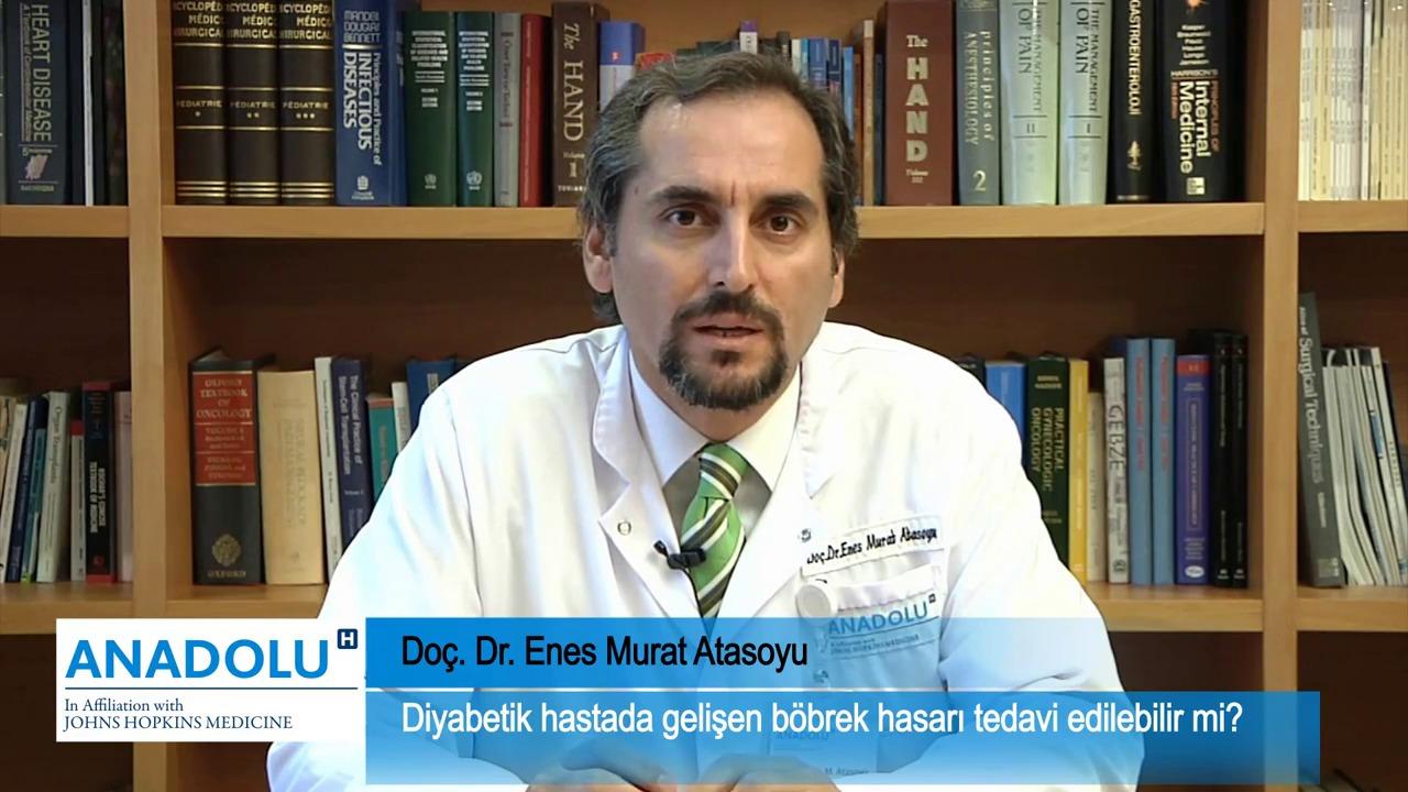 Diyabetik hastada gelişen böbrek hasarı tedavi edilebilir mi?