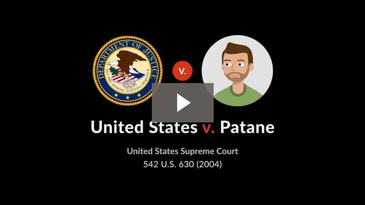 United States v. Patane