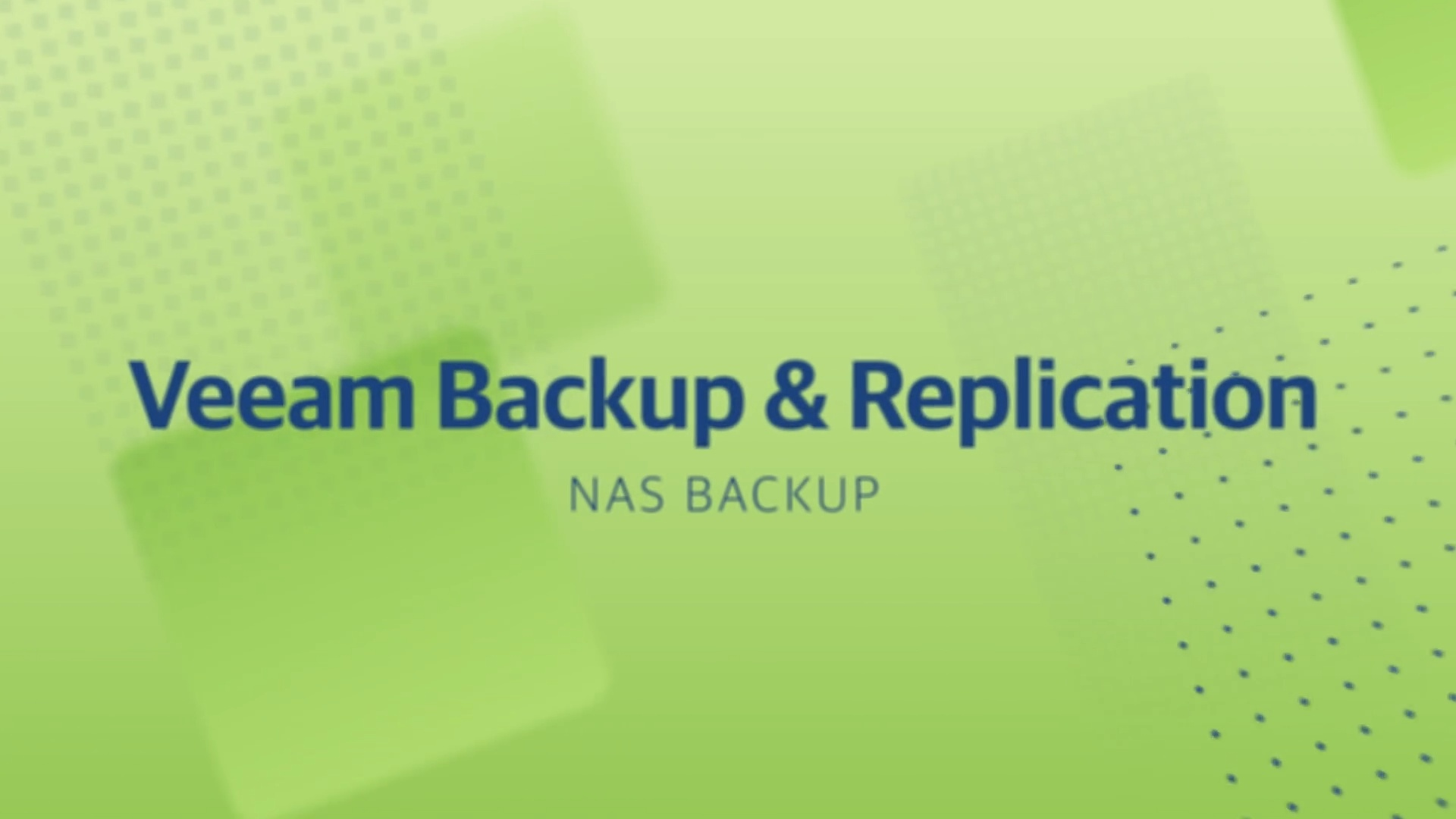 Product launch v11 - VBR - NAS Backup