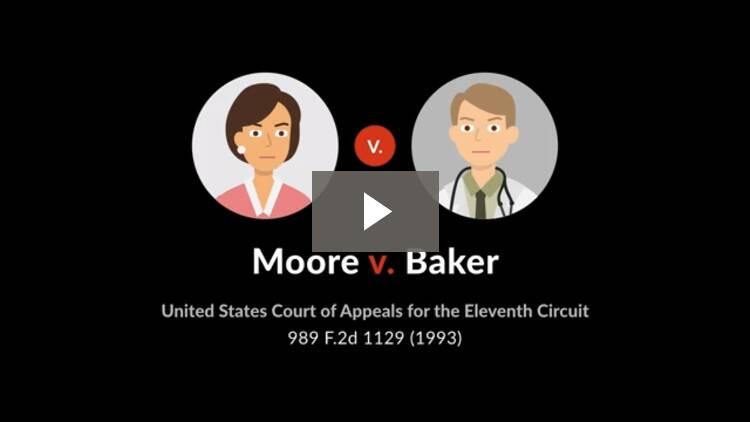 Moore v. Baker