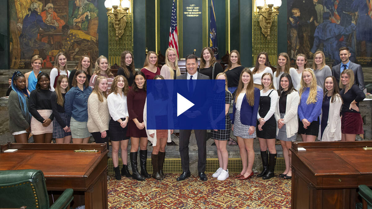 2/3/20 – Introduction of Camp Hill HS Girls Soccer Team