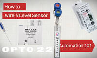 Automation 101: Wire a Level Sensor