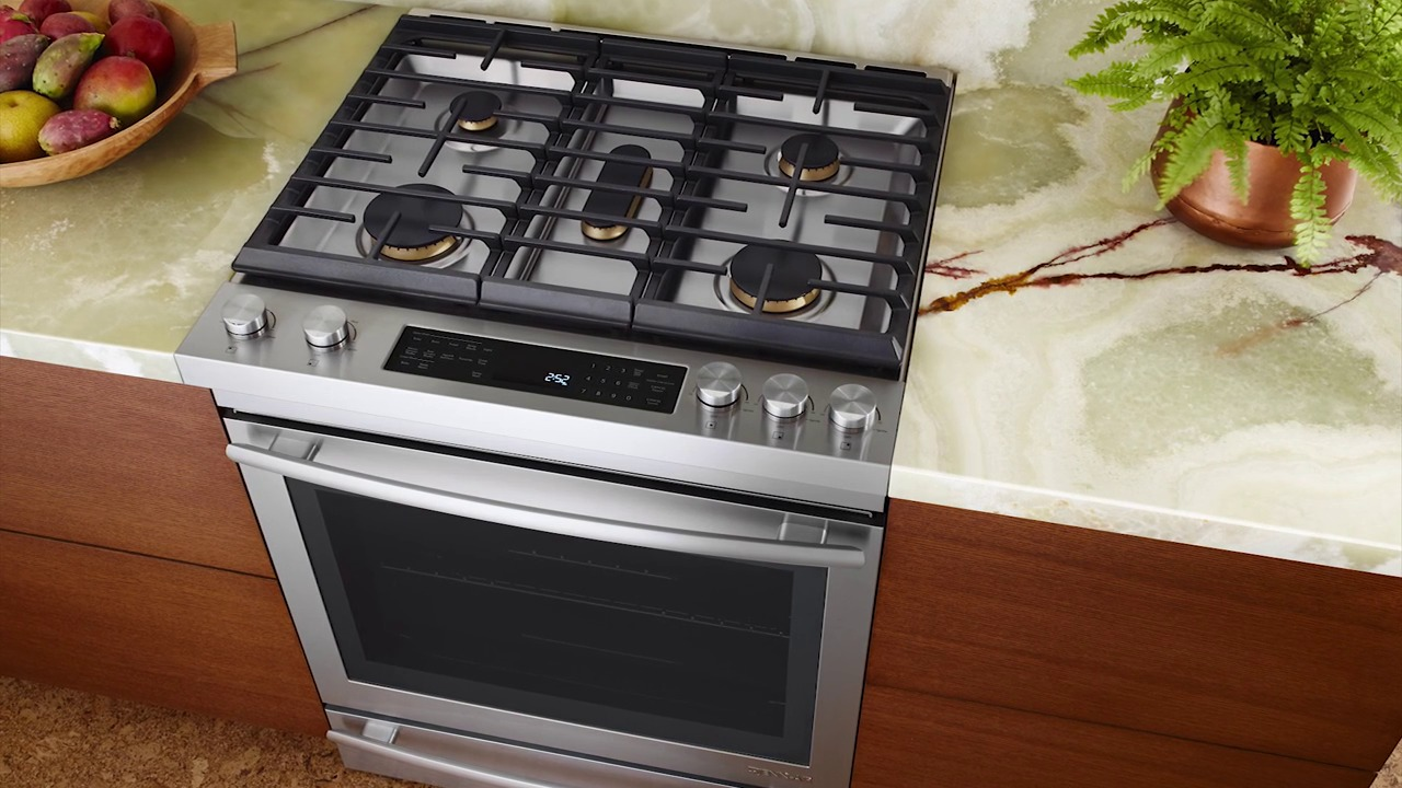 features and benefits of the new jennair slidein range - Slide In Gas Range