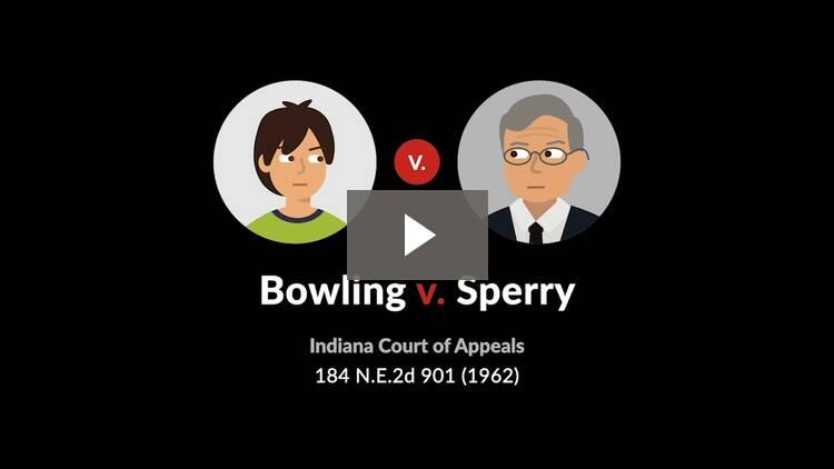 Bowling v. Sperry